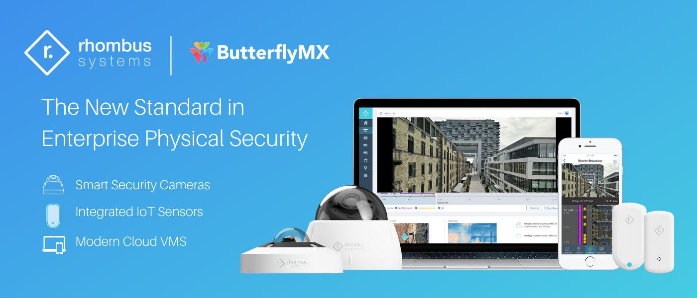 Rhombus and ButterflyMX integration