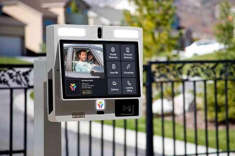 ButterflyMX video intercom as gate call box alternative