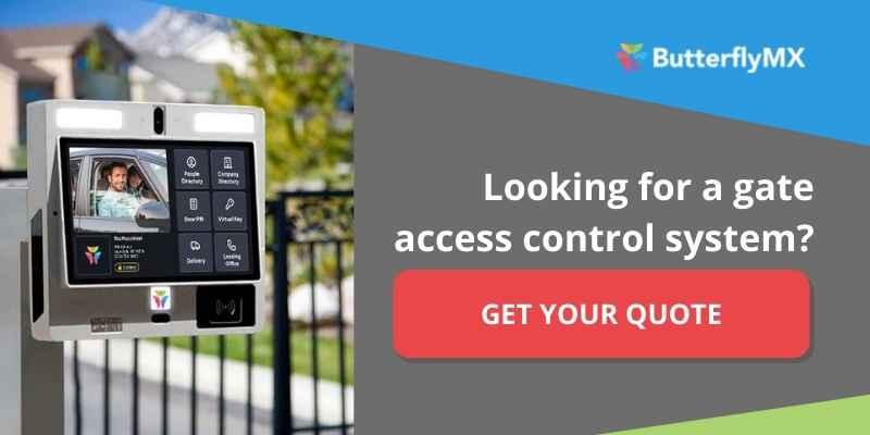 gate telephone entry system cta
