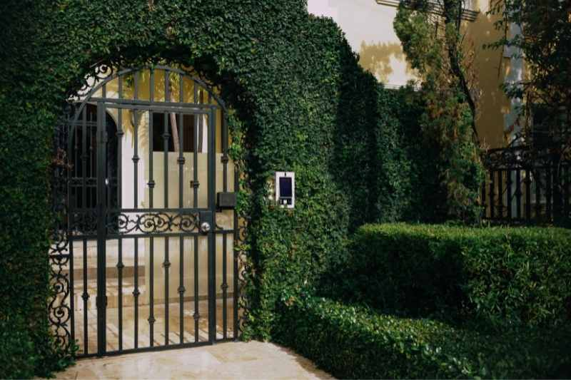 gated community with access control for amenities