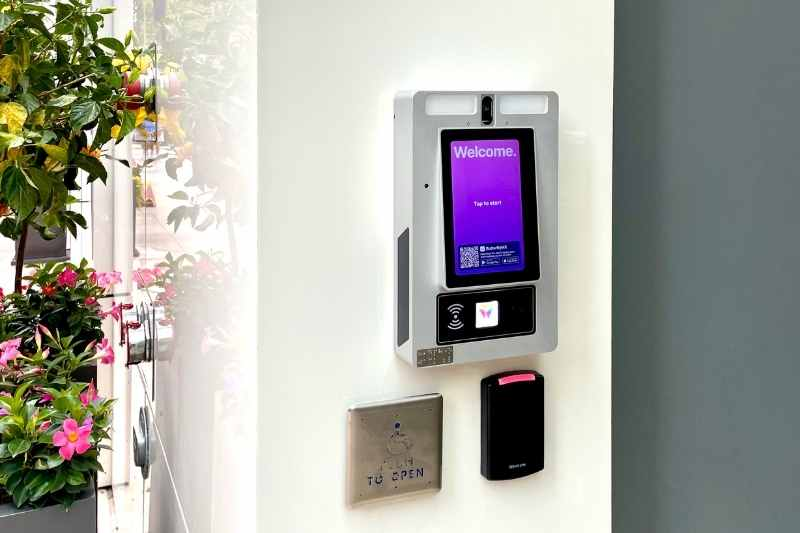 mobile app access control for gated community amenities